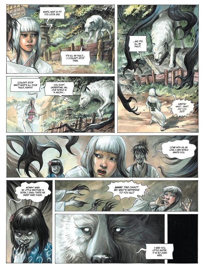 Excerpt 2 : Izuna #1 - Oversized Deluxe