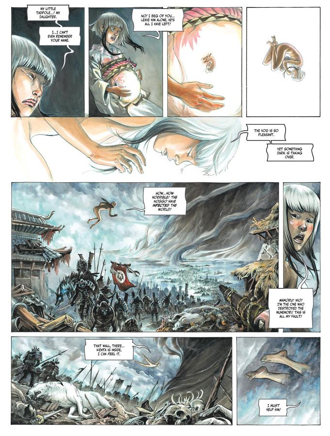 Excerpt 3 : Izuna #1 - Oversized Deluxe