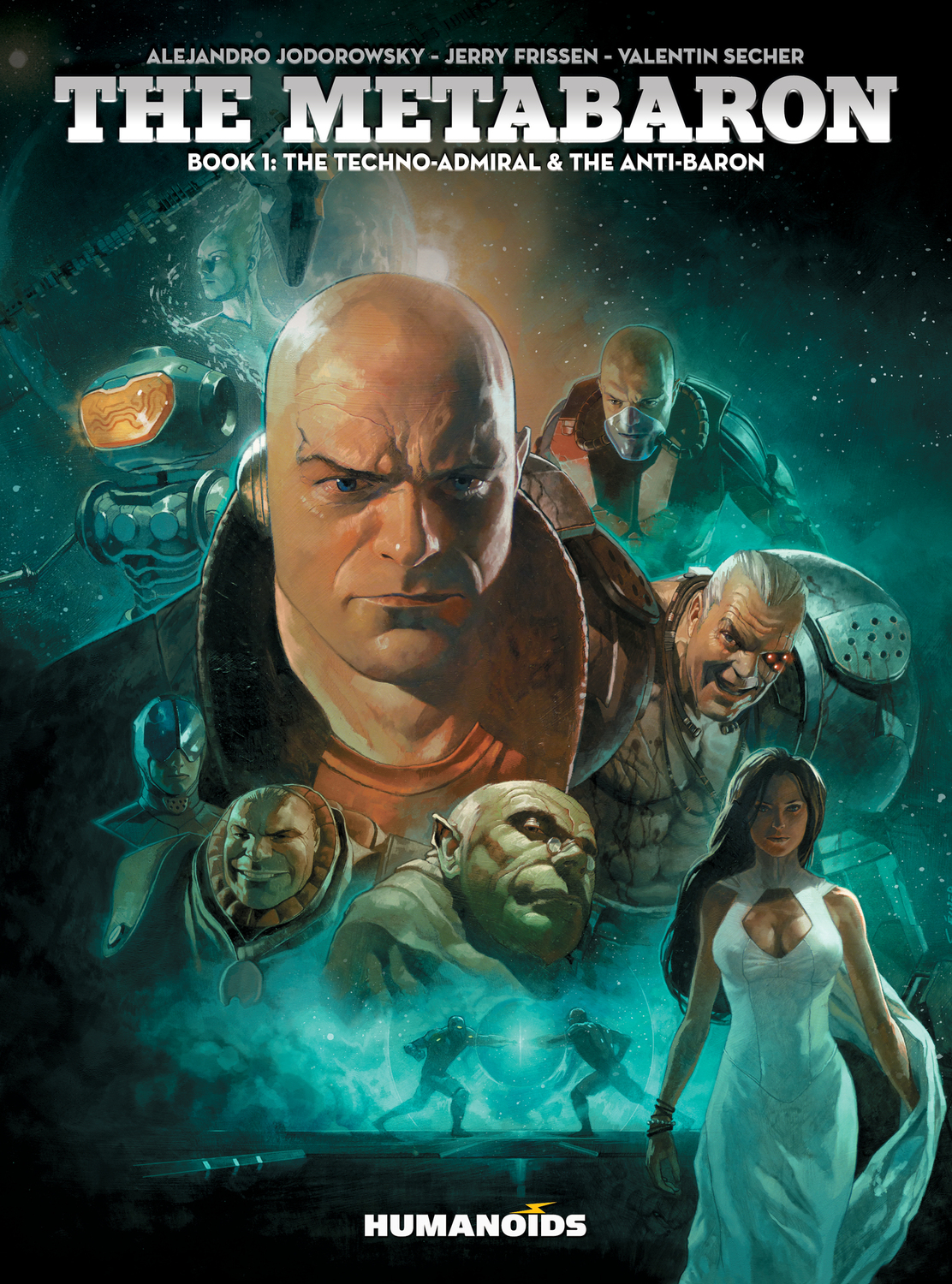 The Metabaron #1 : The Techno-Admiral & The Anti-Baron - Softcover Trade