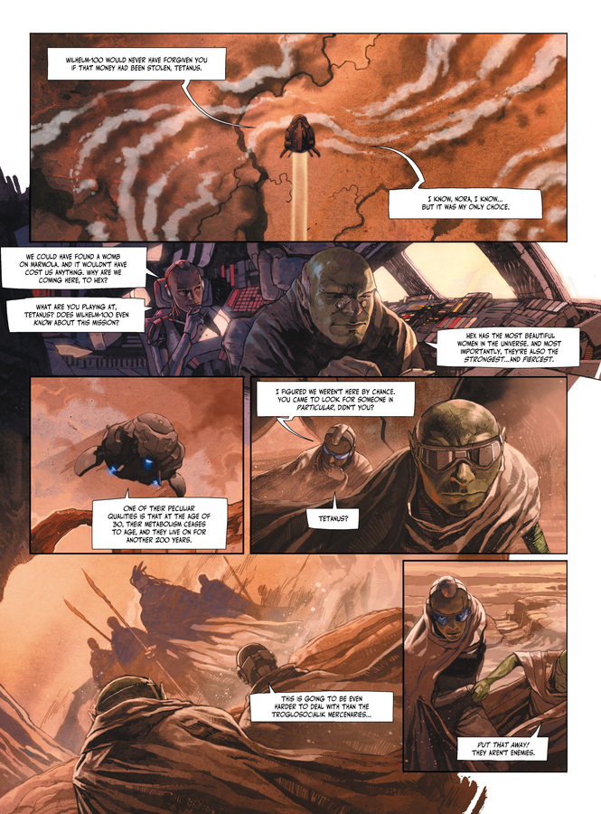 Excerpt 1 : The Metabaron #1 : The Techno-Admiral & The Anti-Baron - Softcover Trade
