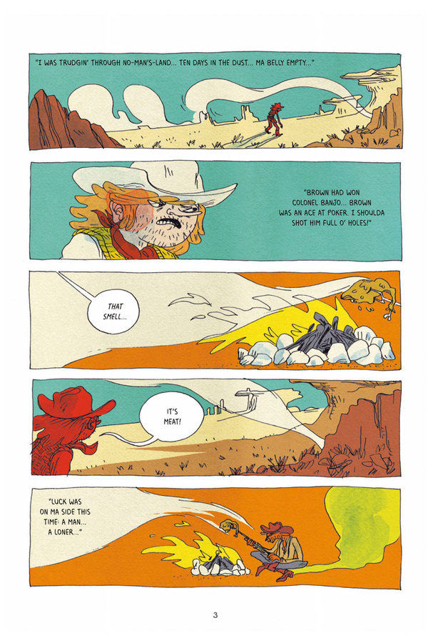 Excerpt 0 : Victor & Clint - Softcover Trade